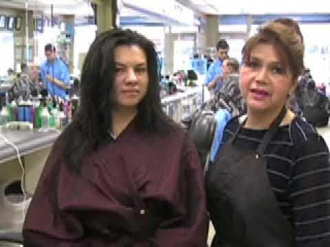 Como cortar el cabello en Capas en V - How to cut hair step by step - Corte de cabelo estilo em V