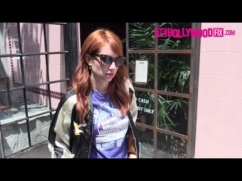 Emma Roberts Looks Sullen While Seen For The First Time Since Split With Evan Peters 5.19.16