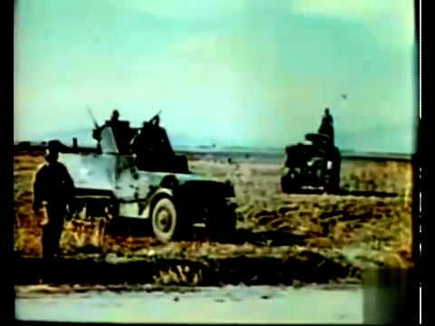 At The Front In North Africa With The U.S. Army (1943)