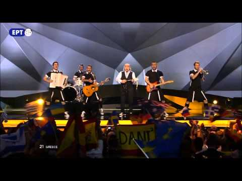 Koza Mostra feat. Agathon Iakovidis - Alcohol Is Free (Greece) - LIVE -  FINAL 2013 FULL HD