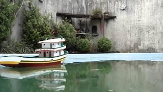 Nautimodelo Réplica de Traineira de pesca  RC, RC Fishing Boat