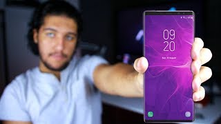 Samsung Galaxy Note 9 | معايا نسخة من سامسونج نوت ٩ بقالى شهور 😱