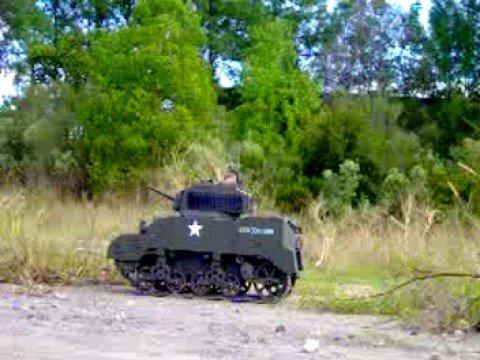 Radio Control 1/6 M5 Stuart Tank