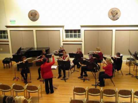 Williamsport Flute Choir - Wassailing arr. Amy Rice-Young