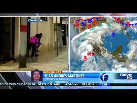 Coahuila es uno de los estados más afectados por lluvias