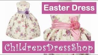 Style CC529 Children's Fancy Easter Dress