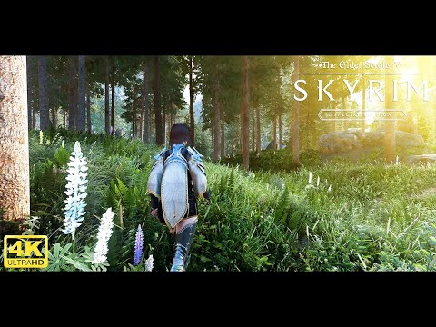 🔥 Skyrim Special Edition Ultra Modded 4K 2021 : Best Graphics !! w/Modlist !! 🔥
