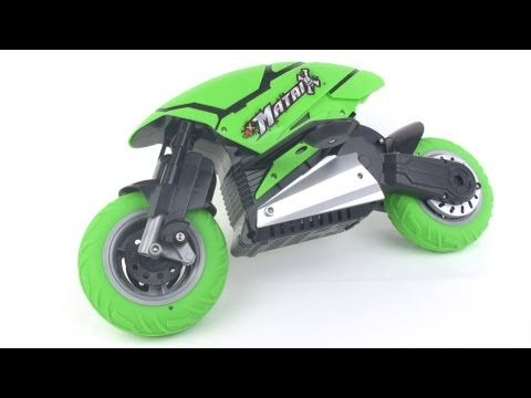 Fast Lane RC JLX Matrix stunt motorcycle tested