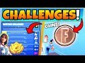 Fortnite OVERTIME CHALLENGES GUIDE! + Coins, Motel, and RV Park Locations! (Battle Royale Update) Mp3