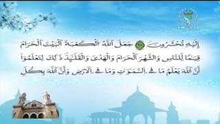 تلاوة مباركة لما تيسر من سورة المائدة للقارئ الشيخ الابراهيمي