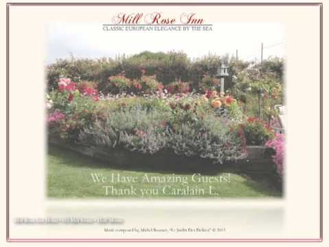MILL ROSE INN Hotel, Half Moon Bay, CA., We Thank Our Amazing Guests