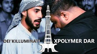 Xpolymer Dar vs Deikilluminati - They-See Battle League (Desi Rap Battle)