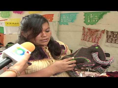 """Exponen artesanías chiapanecas en el marco del festival """"Chiapas  Multicultural""""."""