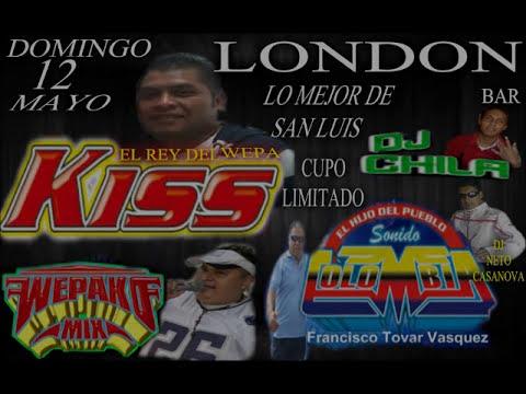 KISS SOUND 2013 EN EL LONDON BAR LO MEJOR DE SAN LUIS