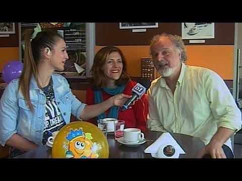 Martina Graf con la Compañía de la Risa