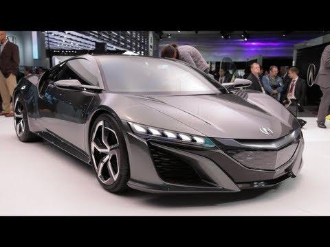 Acura NSX Concept - Детройт 2013
