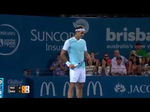 Roger Federer - Top 10 Throwing Rackets