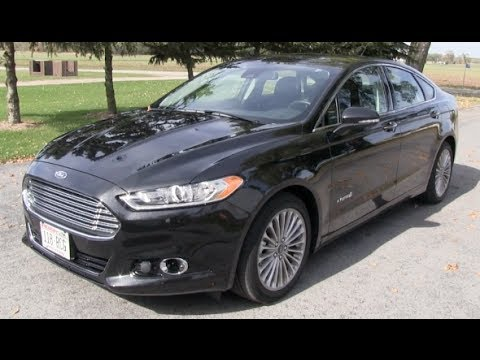 Overview Amp Features 2014 Ford Fusion Hybrid Titanium