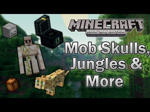 [Minecraft: Xbox 360] TU12 Feature Discussion - Mob Skulls, Jungles & More!