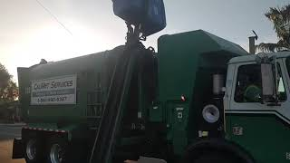 Calmet Services Trash Truck #130 Autocar Asl part 2