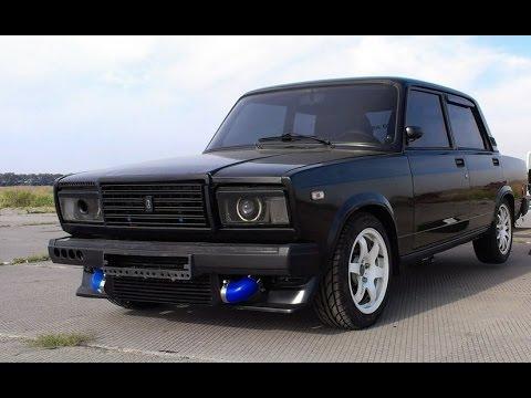 ВАЗ 2107 Турбо 300л.с. Тюнинг: AmagТест-драйв