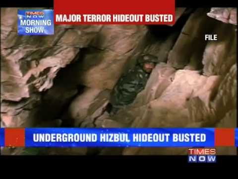 Major terror hideout busted in Jammu