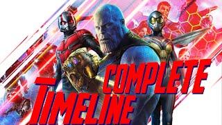 Marvel Cinematic Universe Chronological Timeline (v5.0)