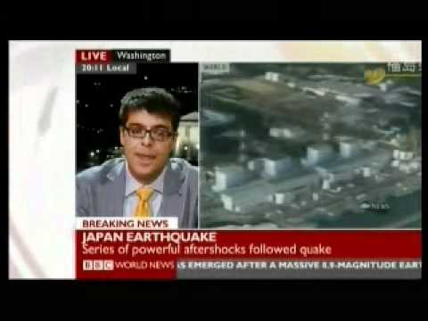 Japan 2011 Earthquake 5  - Nuclear Alert 1 of 2 - BBC News America