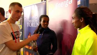 Interview with Gebzebe Dibaba
