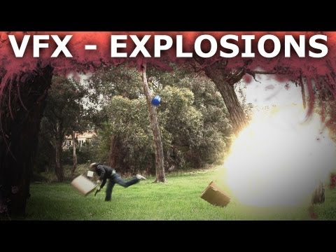 Adobe After Effects Explosion Visual Effects 101 - How To Blow Stuff Up video