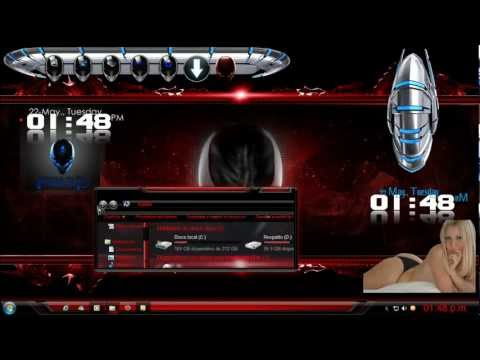 TEMA ALIENWARE GLASS DE INSTALACION y regalo para suscriptores.mp4