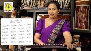 Voice Training PART 3 - Voice Training in Different Scales | Swara Abhyasa | Siri Sangabodhi