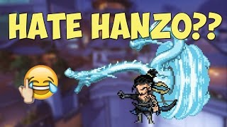 This Is Why People Hate HANZO...   Funny Overwatch Series #7
