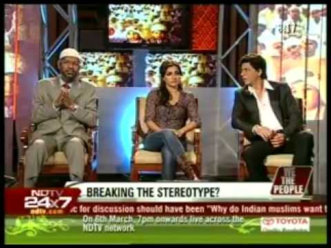 3.dr. Zakir Naik, Shahrukh Khan, Soha Ali Khan On Ndtv With Barkha Dutt video