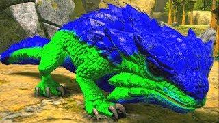 Bebê Dragão Espinhoso Em Busca De Uma Família Perdido No Outro Mundo! Ark Dino Evolved