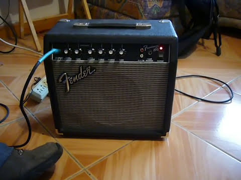 amplificador fender frontman 15 g 15 watts