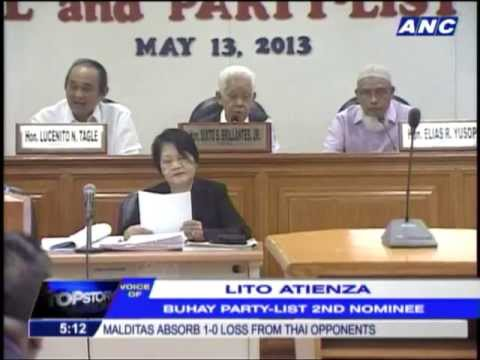 Buhay's Atienza eyes RH Law repeal