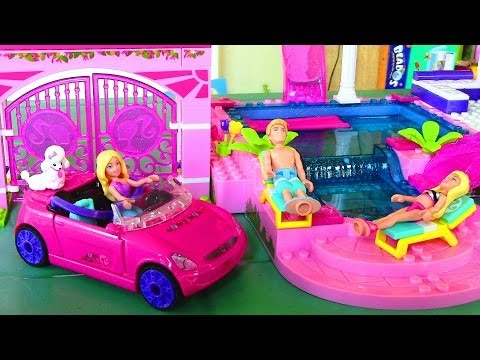 Mega Bloks Barbie Fashion Boutique Barbie Doll House Like Lego MEGA BLOKS Barbie On the Go