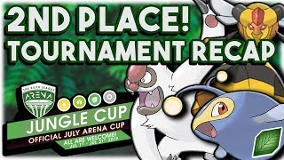 I Placed 2ND In My First Jungle Cup TOURNAMENT!!! - Pokemon GO PvP