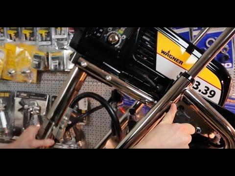Wagner ProSpray PS 3.39 - Einführung zum Aufbau. zur Funktion und Anwendung – Airless Spachtelgerät