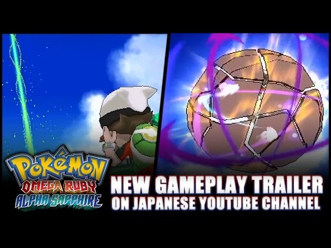Pokémon Omega Ruby And Alpha Sapphire: News - New Japanese Never-before-seen Gameplay Trailer! video