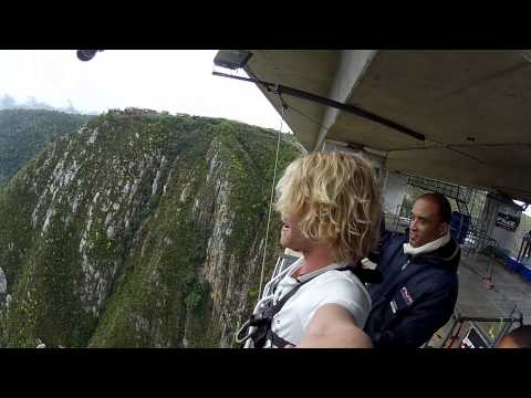 WORLDS HIGHEST BRIDGE BUNGEE JUMP with Tim Charody (Roam)