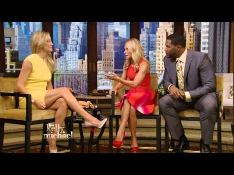 Kate Hudson - nice legs - Kelly Ripa show