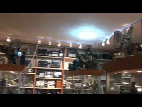 cinema museum -  8mm film projectors- www.filmprojectors.eu