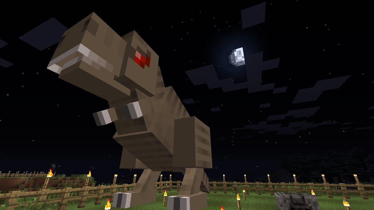 Minecraft Dinosaurs Part 1