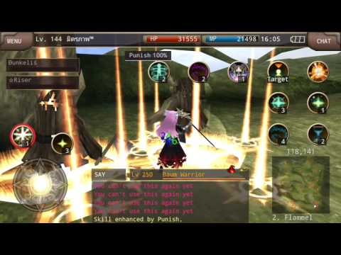 Bishop Lv.334 Leveling / All Skill & Buff - [ Iruna Online ]