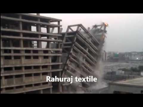 2016   Destroy in second Rahul Raj Textile City Surat India