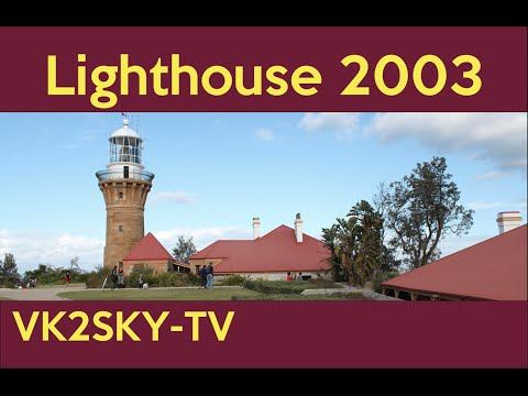 VK2MB at Barrenjoey Lighthouse 2003