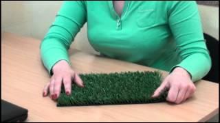 Как сделать искусственную траву для поделки своими руками