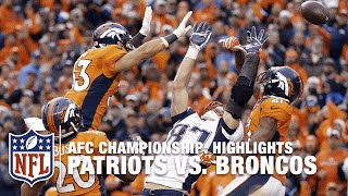 Patriots vs. Broncos | AFC Championship Highlights | NFL